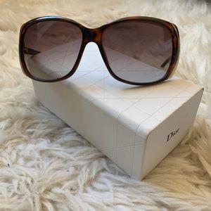 Dior Brown Tortoise Sunglasses